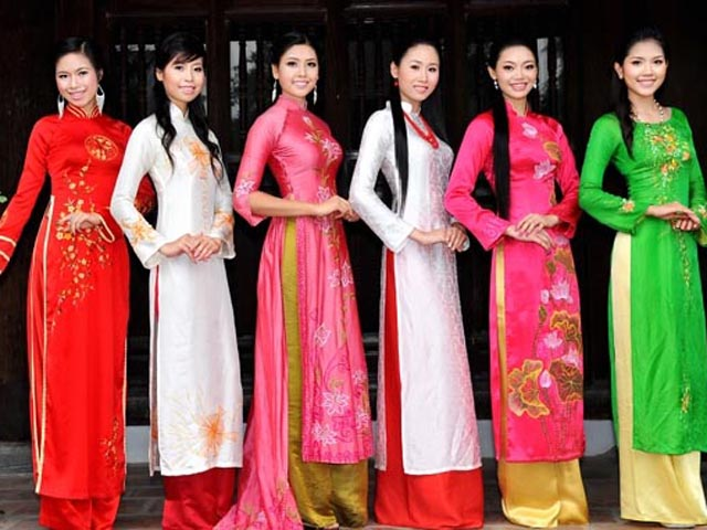 Vietnam: Ao dai