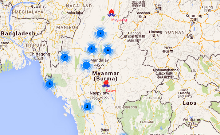 Myanmar flood map investvine myanmar flood map gumiabroncs Gallery