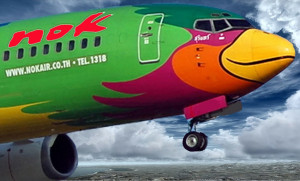 Nok Air special paint