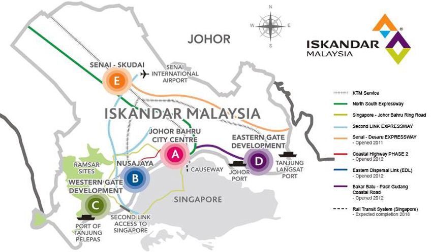 """Malaysia's Shenzhen"""" Iskandar to be three times the size of"""