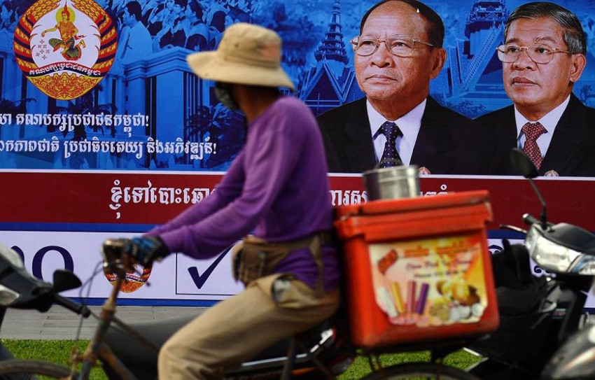 Cambodia goes to the polls – government blocks critical news
