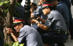 Image result for philippine policeman no gun