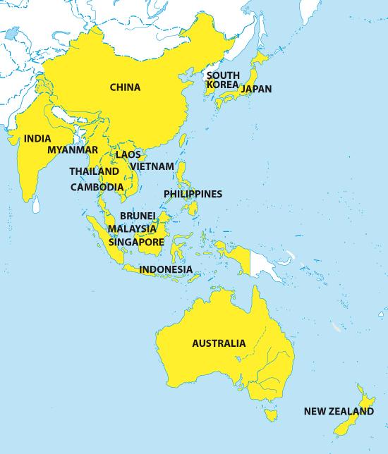 rcep map